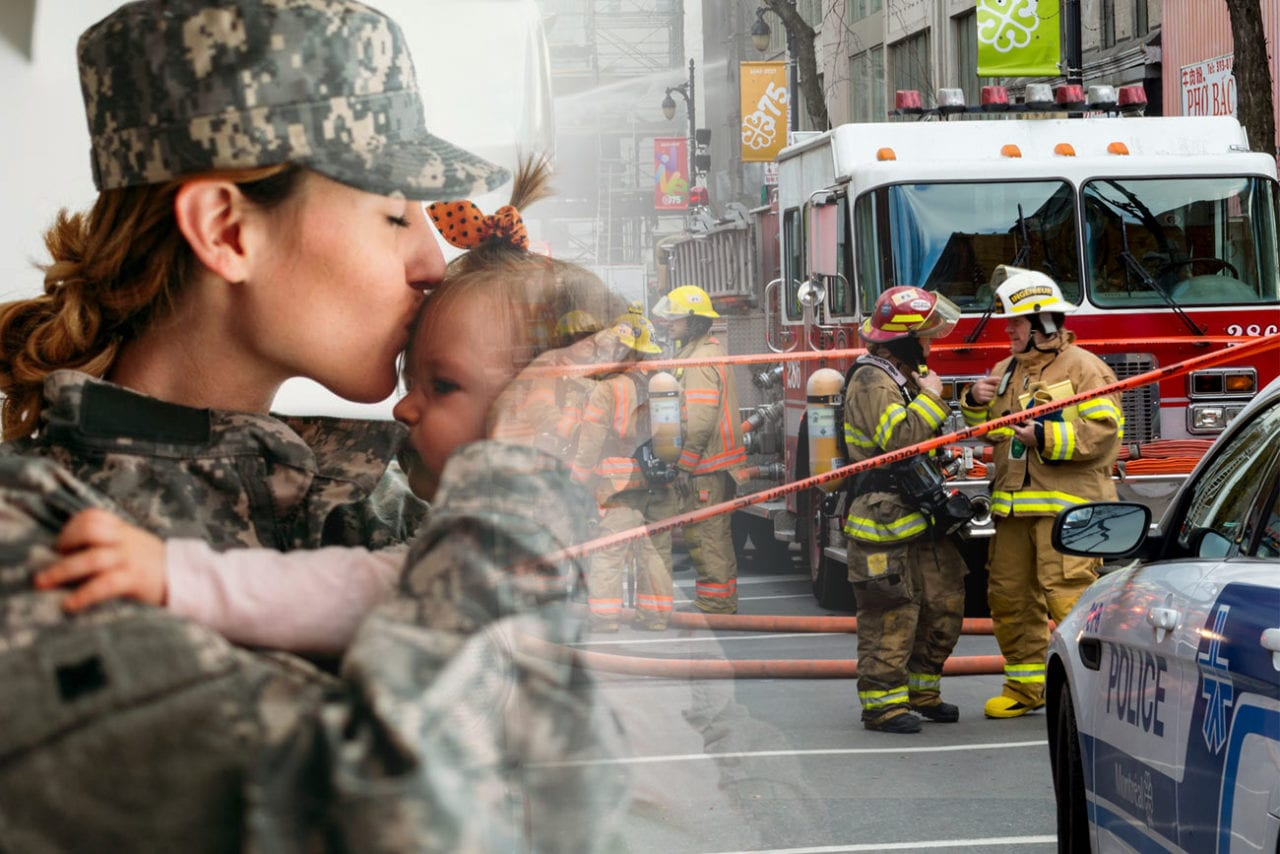 Military & First Responders Discount